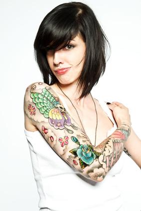 Tattoo mit Laser entfernen